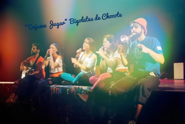 Bigolates de Chocote en el Konex agosto y septiembre!